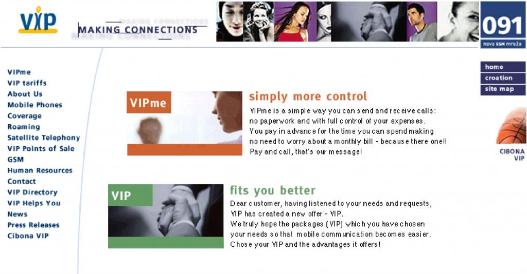 Vip site