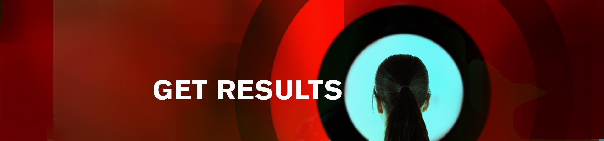 Get Results graphic red