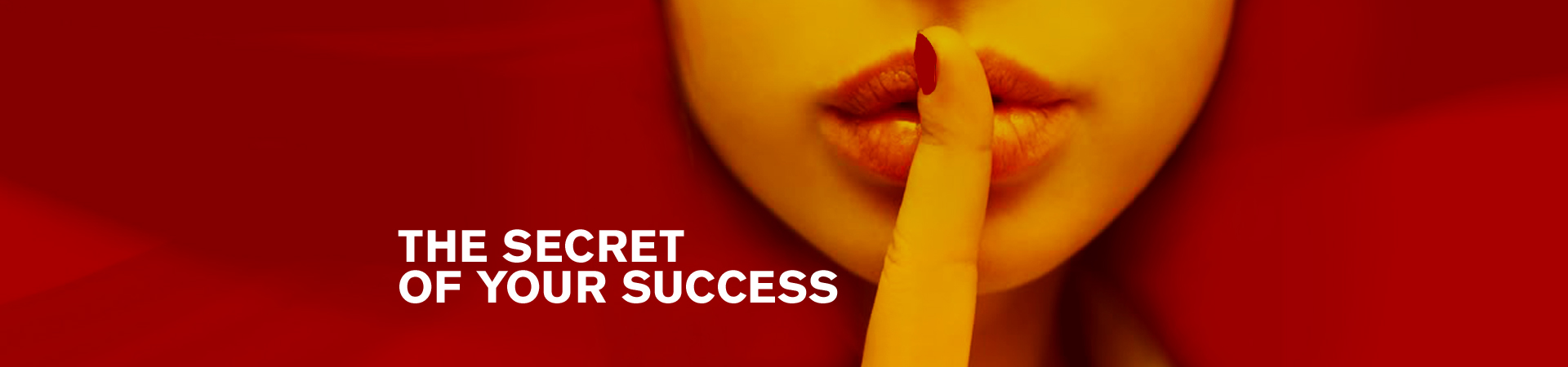 The Secret – red hero graphic